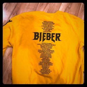 Justin Bieber Tour Crewneck